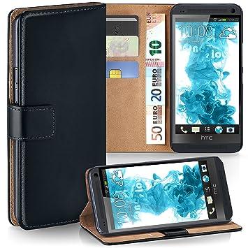 94a4cae4d78 Bolso OneFlow para funda HTC One M7 Cubierta con tarjetero | Estuche Flip  Case Funda móvil