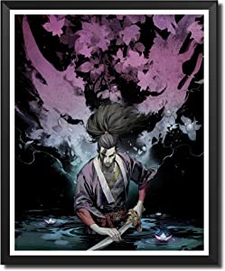 Yansang Game League of Legends LOL Yasuo Bathroom Decor Wall Decor Home Decor Canvas Print Poster,Unframed,8 x 10 Inches,Set of 1 Piece