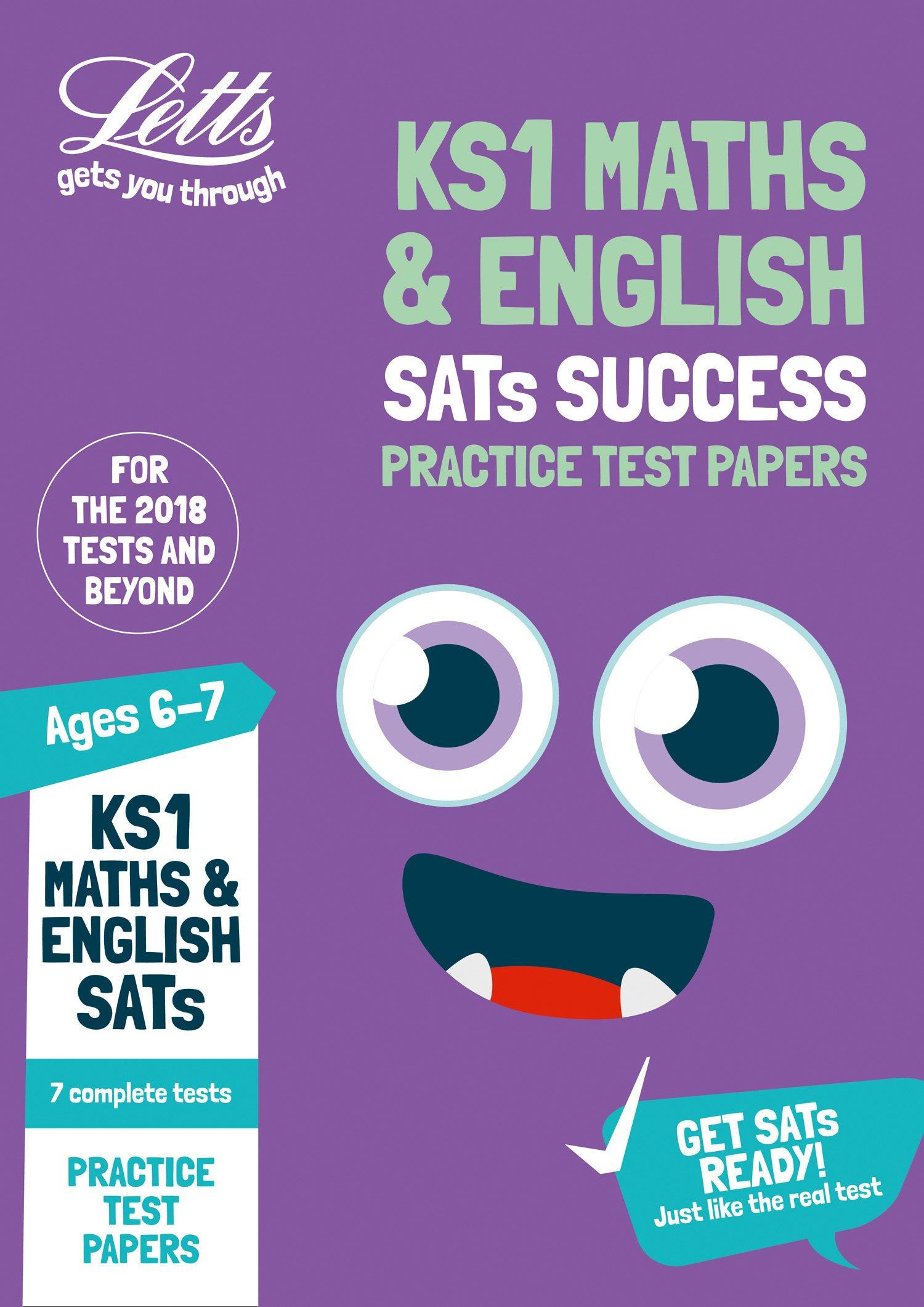 KS1 Maths and English SATs Practice Test Papers: 2018 tests (Letts ...