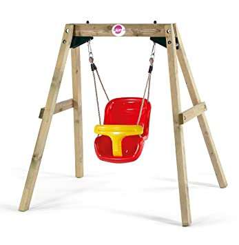 Plum Wooden Baby Swing Set: Amazon.co.uk: Toys & Games