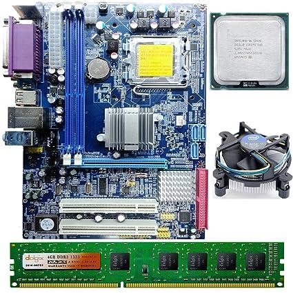 Zebronics Intel Core 2 Duo E8400 3.0 GHZ + G41 Zebronics + 4 GB DDR3 on