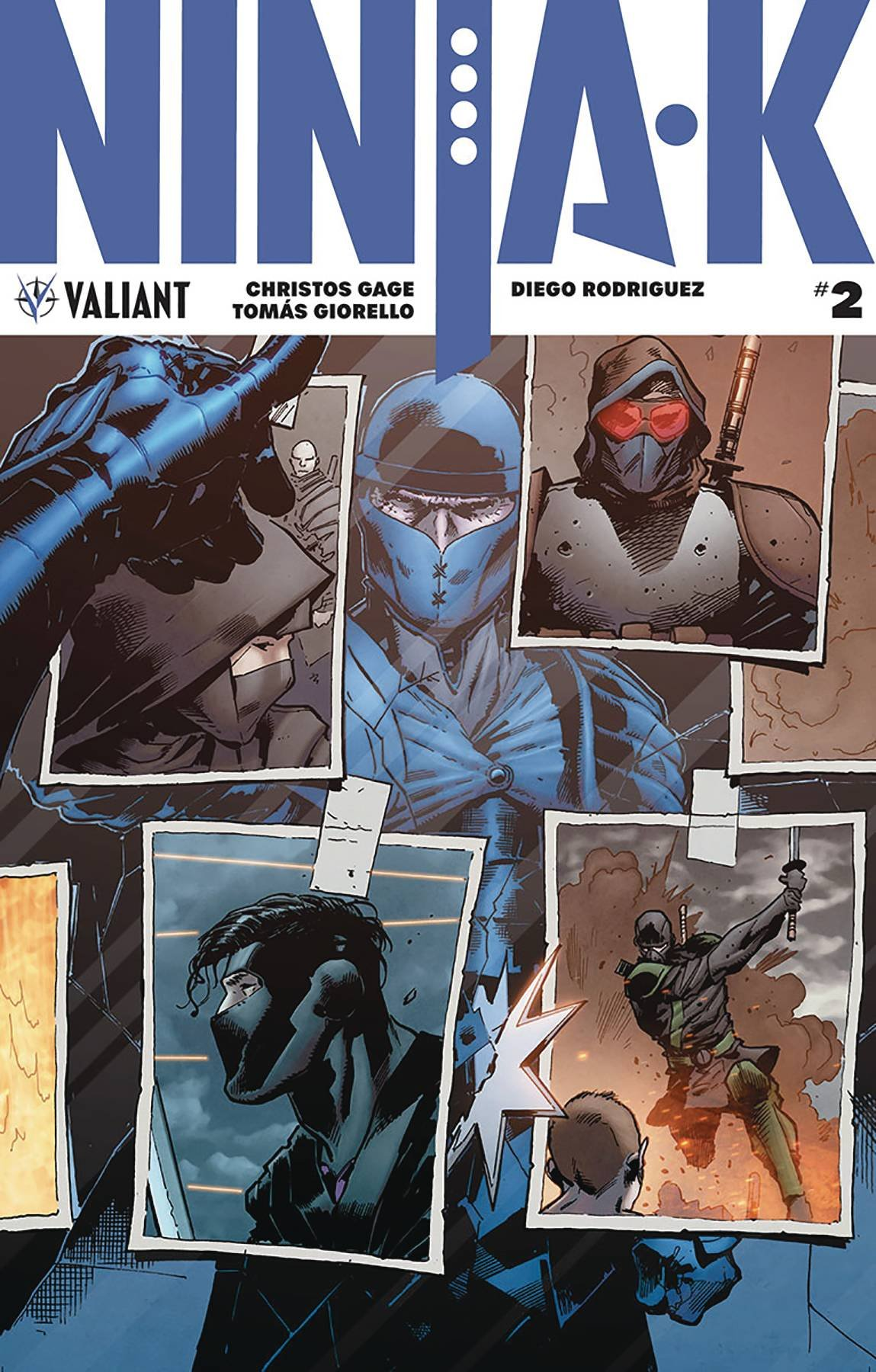 Ninja-K (Issue #1 -Cover B by Lucas Troya): Tomas Giorello ...