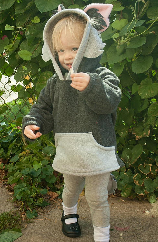stylesilove Unisex Baby Cute Cartoon Animal Hooded Costume Outfit