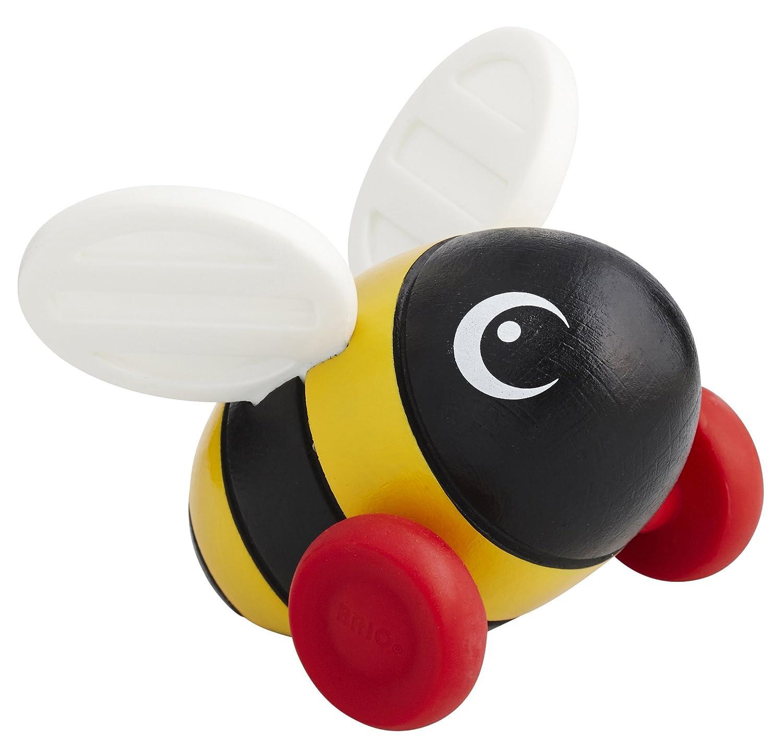 brio infant u0026 toddler mini push along bumblebee amazon co uk