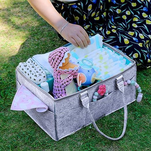 Amazon.com: Organizador para pañales de bebé, para cambiar ...