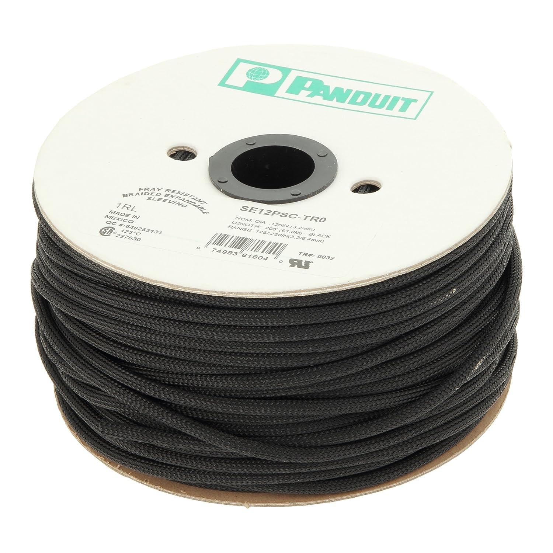 パンドウイット スーパーネットチューブ(ほつれ防止タイプ) 黒 SE150PSC-LR0   B012IOR3K0