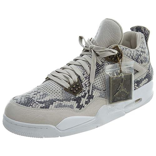 Nike Air Jordan 4 Retro Premium, Zapatillas de Baloncesto para Hombre: Amazon.es: Zapatos y complementos