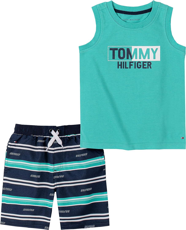Tommy Hilfiger Boys' 2 Pieces Tank Top Shorts Set