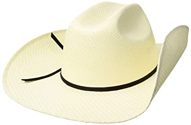 Amazon.com  Twister Men s 8X Shantung Double S Straw Cowboy Hat ... 6042f18897cf