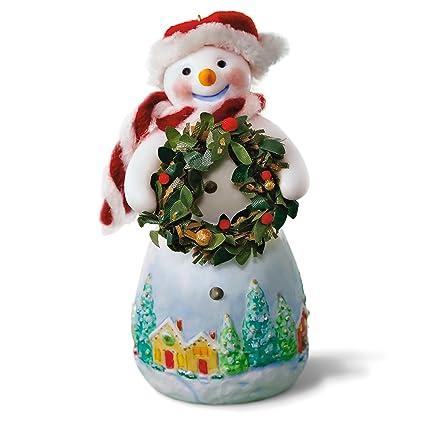 Hallmark Keepsake 2017 Snowtop Lodge Benny M. Merrymaker With Wreath Christmas  Ornament - Amazon.com: Hallmark Keepsake 2017 Snowtop Lodge Benny M. Merrymaker