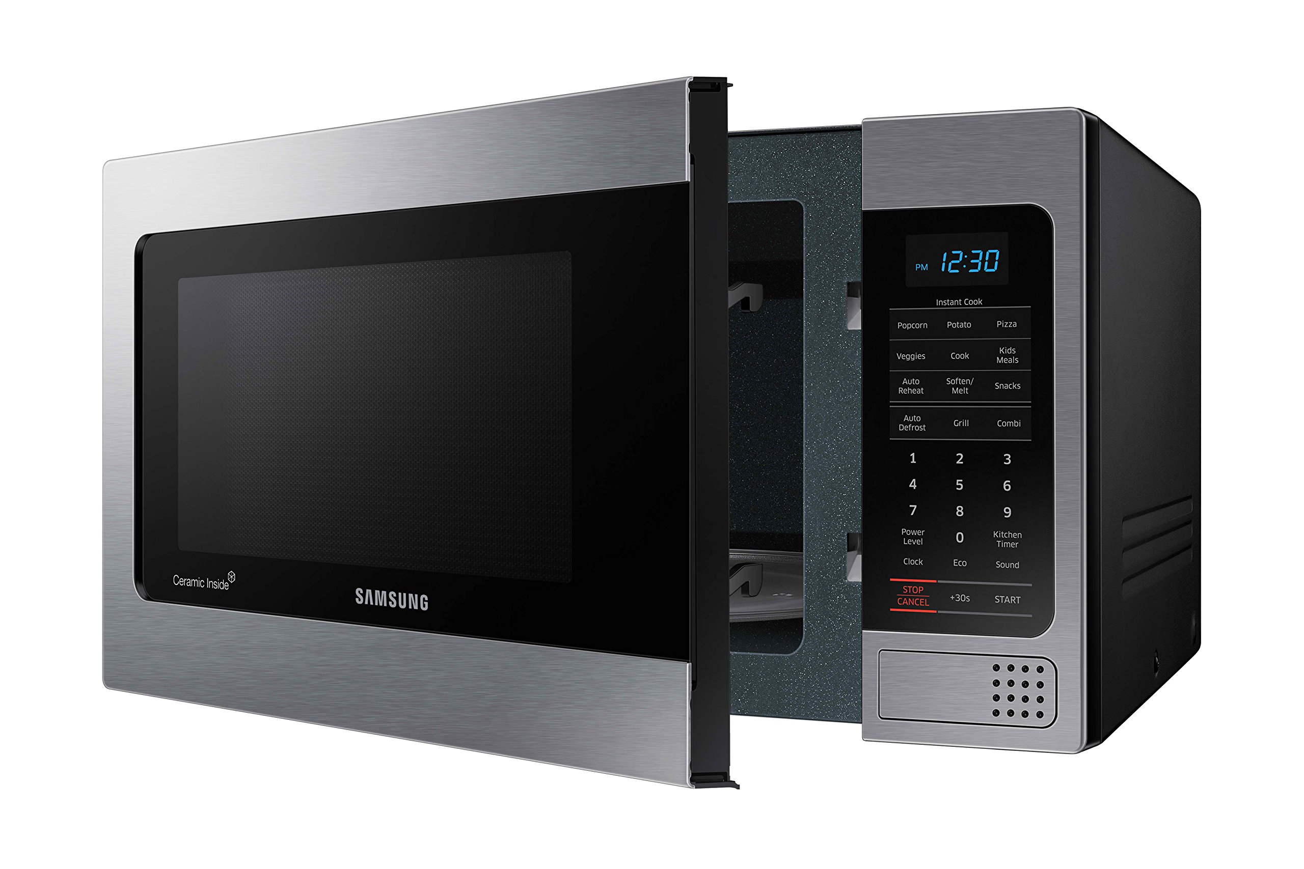 Samsung Mg11h2020ct 1 1 Cu Ft Countertop Grill Microwave
