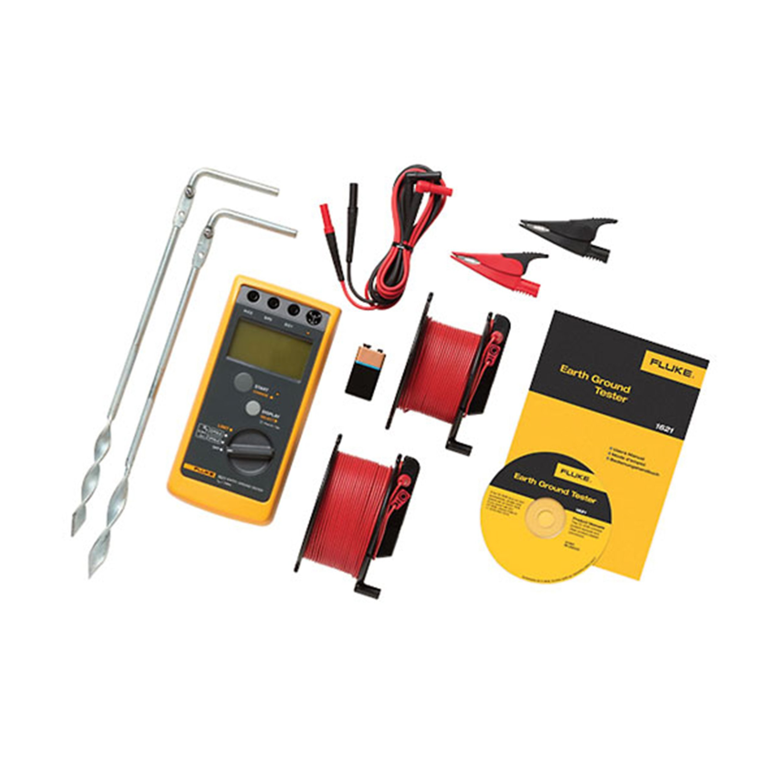 Fluke 1621KIT 12 Piece Earth Ground Tester Kit