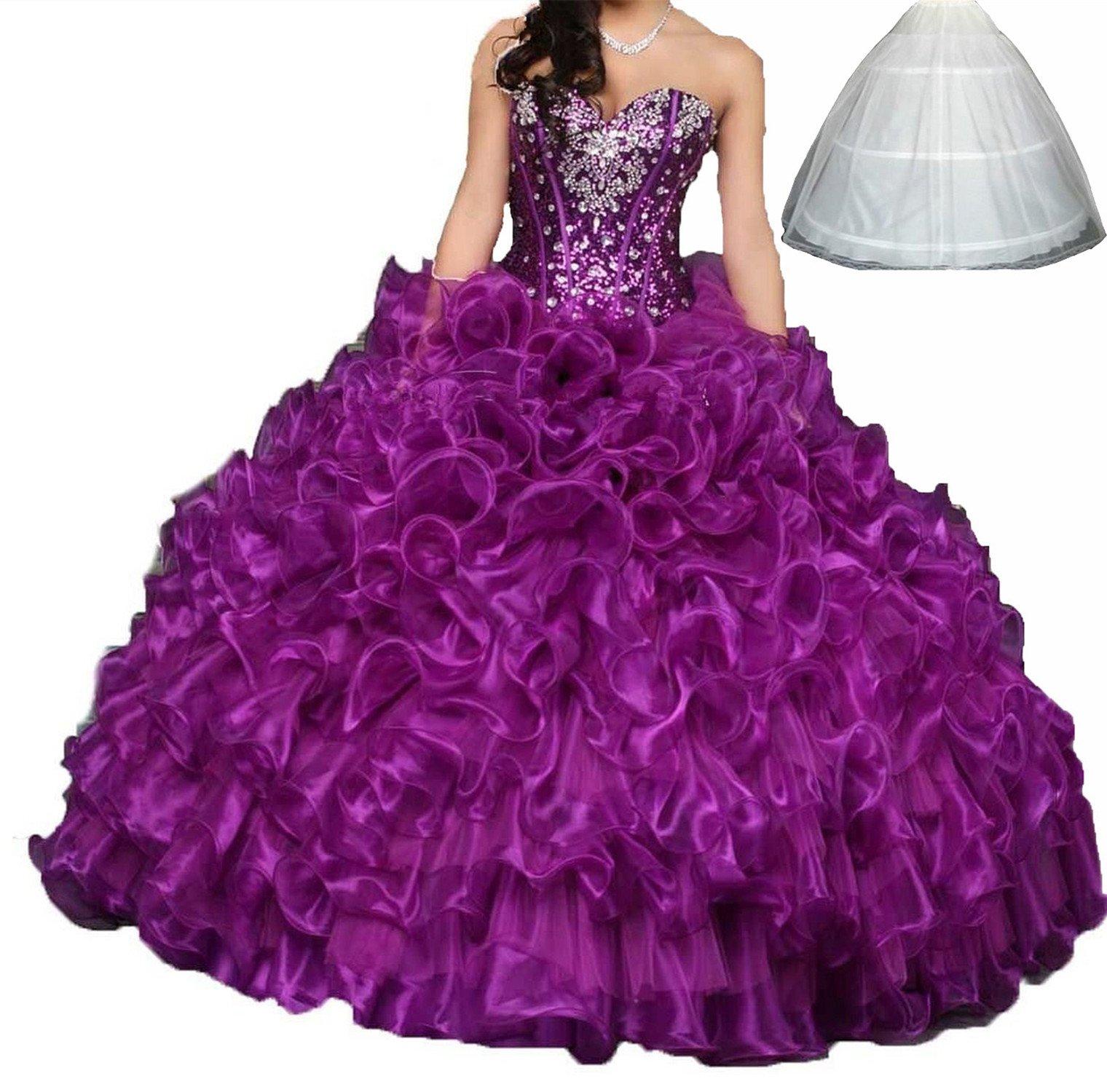 Purple Quinceanera Dresses: Amazon.com