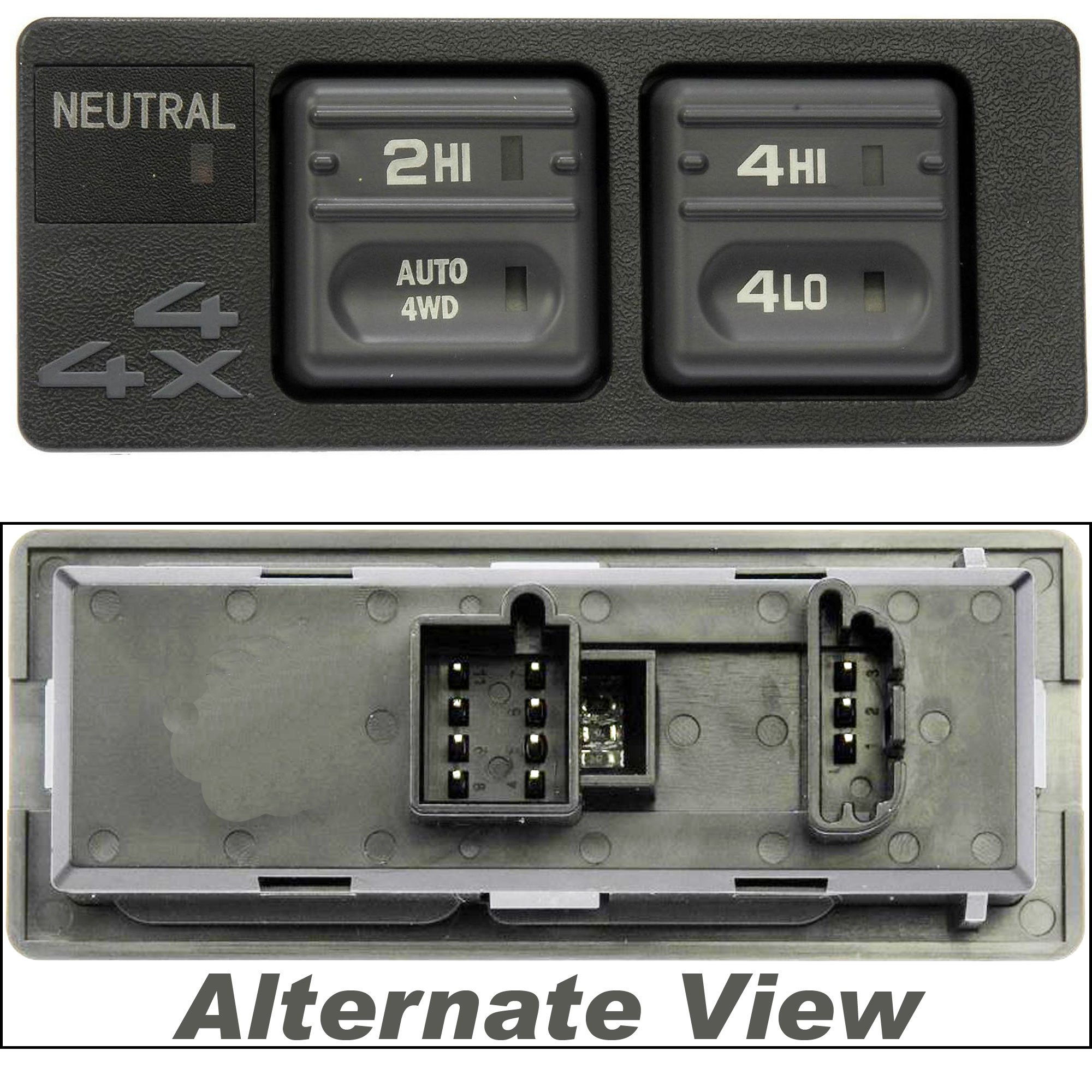 APDTY 012241 4WD Four Wheel Drive Selector Switch (Replaces 15027104, 19168765)