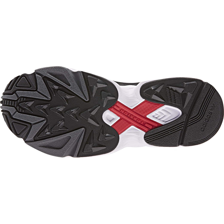 Adidas Falcon RX W Black Carbon Grey Six noir/gris carbone/gris foncÃ