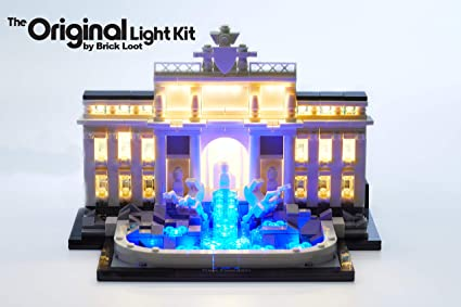 Brick Loot Venice Italy Architecture Skyline Lighting Kit for Your Lego Set 21026 Lego Set NOT Included