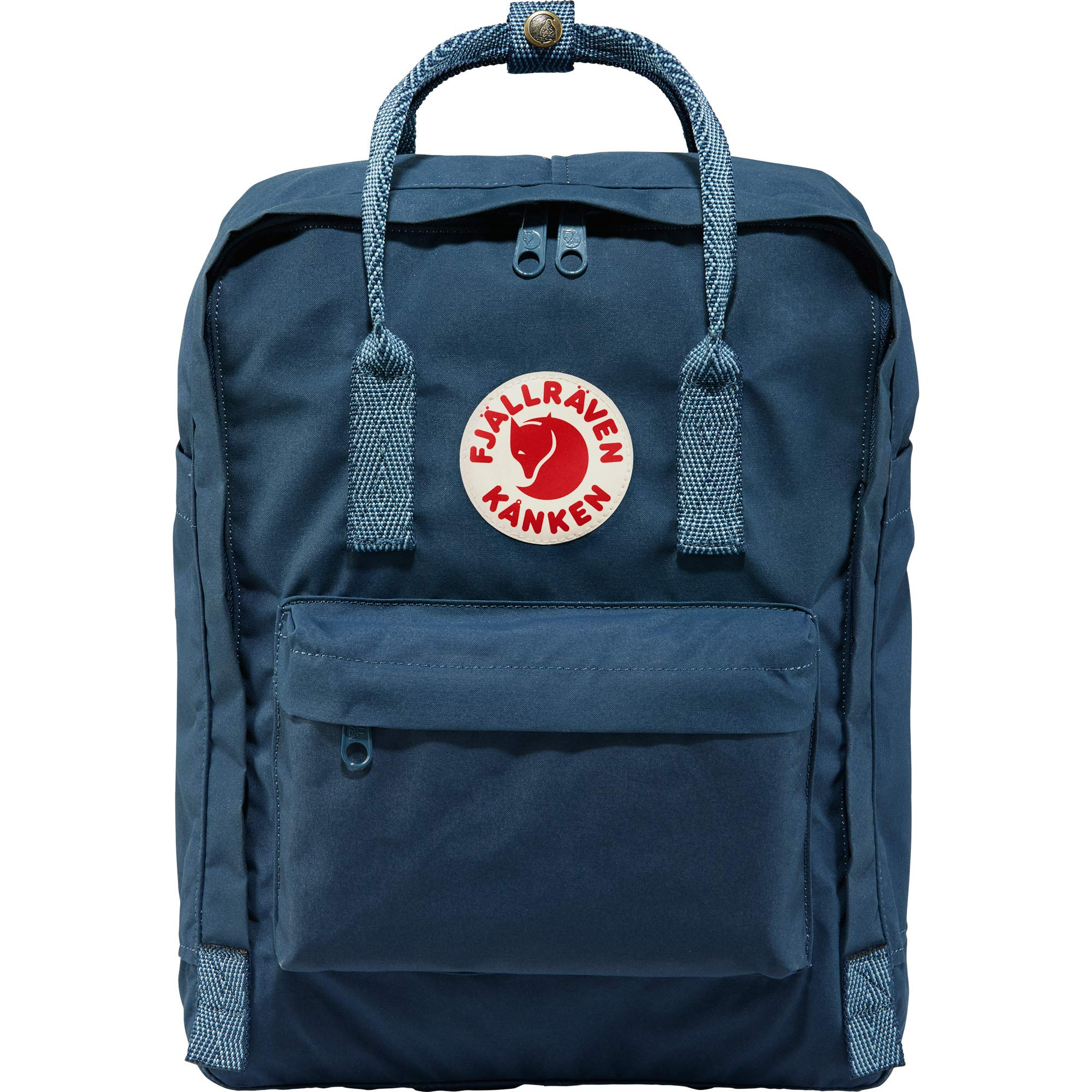 Fjallraven - Kanken Classic Backpack for Everyday, Royal Blue/Goose Eye by Fjallraven