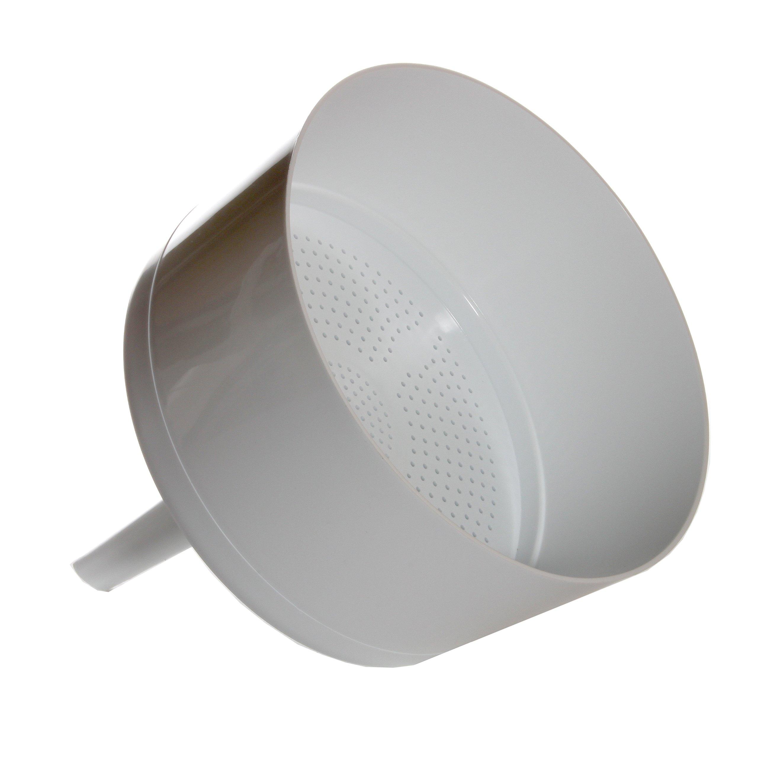 Kartell 242835-240 Polypropylene Autoclavable Buchner Funnel, 240mm Size