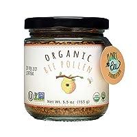 GREENBOW Organic Bee Pollen - 100% USDA Certified Organic, Pure, Natural Bee Pollen...
