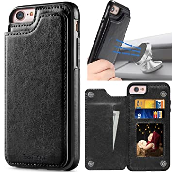 Amazon.com: kazineer iPhone 6 Funda, iPhone 6S Funda, Negro ...