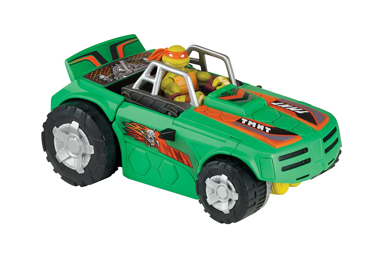 Giochi Preziosi Juguete Tortugas Ninja -Vehículo Transformable Turbo Charger