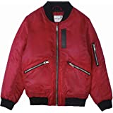 maoo garden Boys/Girls Bomber Jacket Thick Spring Baseball Flight Family Midweight Coat