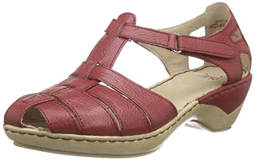 Rote Sandalen. caprice sandalen sandalen damen rote