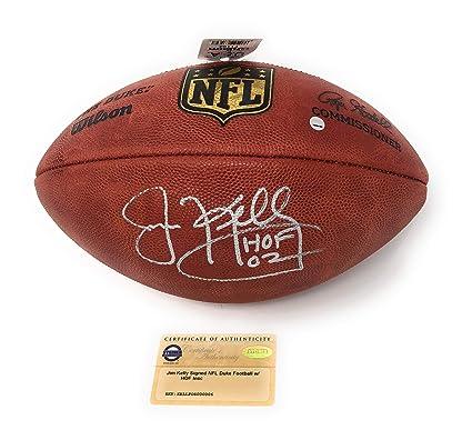 d7dd71f4714 Jim Kelly Buffalo Bills Signed Autograph NFL Authentic Duke Football HOF  Inscribed Steiner Sports Certified