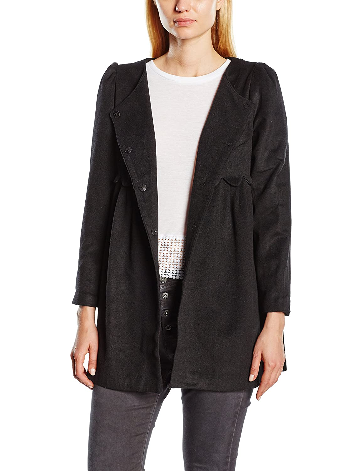 Molly Bracken Damen, Mantel, STAR Manteau et col