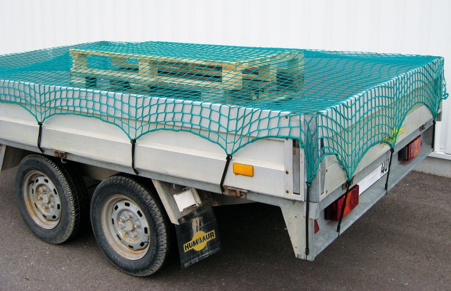 Fray-Resistant Heavy Duty Knotless Bungee Trailer & Truck Cargo Net - Various Sizes - 3.5m x 5.0m (11'4' x 16'4') Horizont