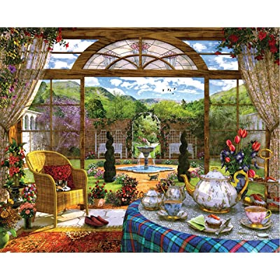 Springbok's 1000 Piece Jigsaw Puzzle The Conservatory: Toys & Games