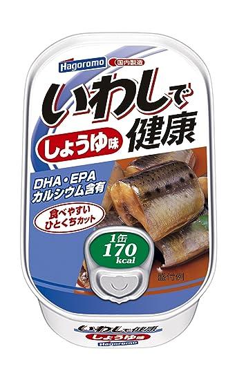 sardinas Hagoromo en la salud de soja salsa de sabor 100g (1582) piezas X6