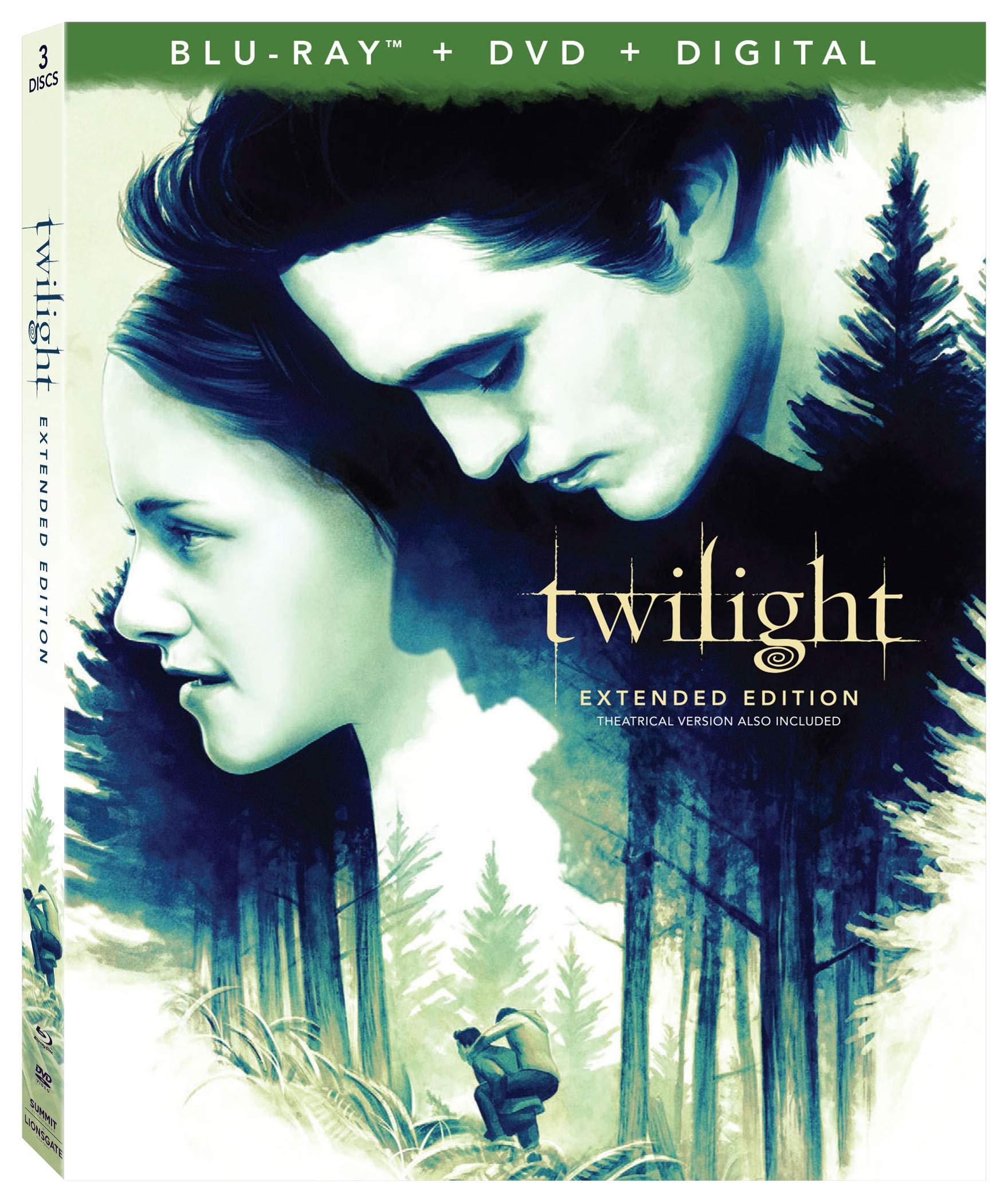 Blu-ray : Twilight (With DVD, Digital Copy)