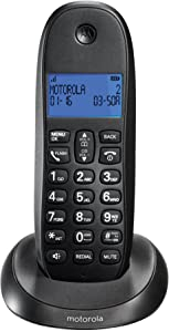 Motorola DECT 6.0 Digital Cordless Home Phone C1001LX