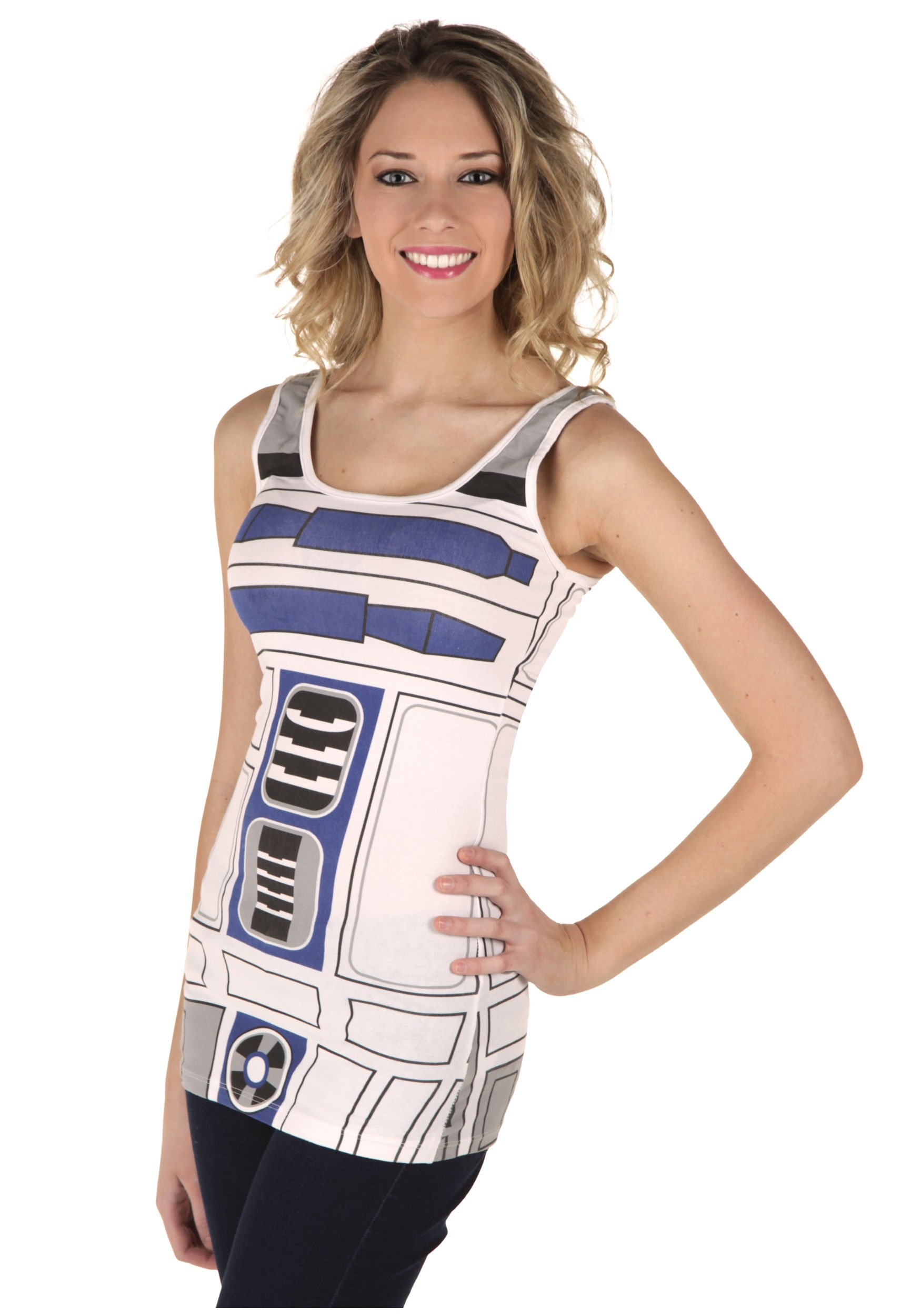 Mighty Fine I Am R2D2 Juniors (Large)