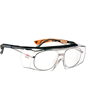 9dd573ec647 NoCry Over-Glasses Safety Glasses - with Clear Anti-Scratch Wraparound  Lenses