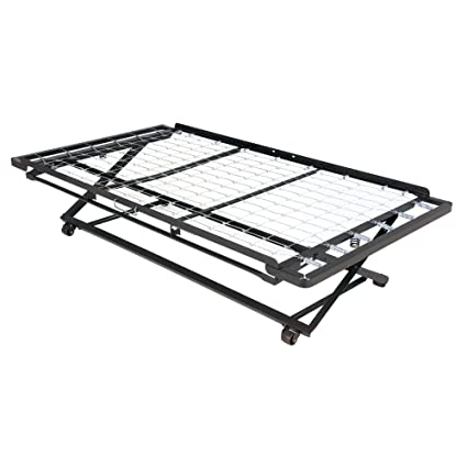 Amazon.com: Leggett & Platt Pop Up 39 Inch Link Spring Trundle Bed