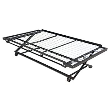 Amazon Com Fashion Bed Group Pop Up 39 Inch Link Spring Trundle Bed
