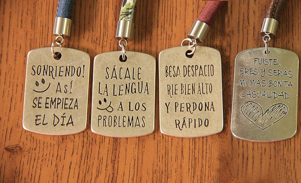 LLAVERO FRASES ESPECIALES | CUATRO TRES FRASES | NUEVE ...