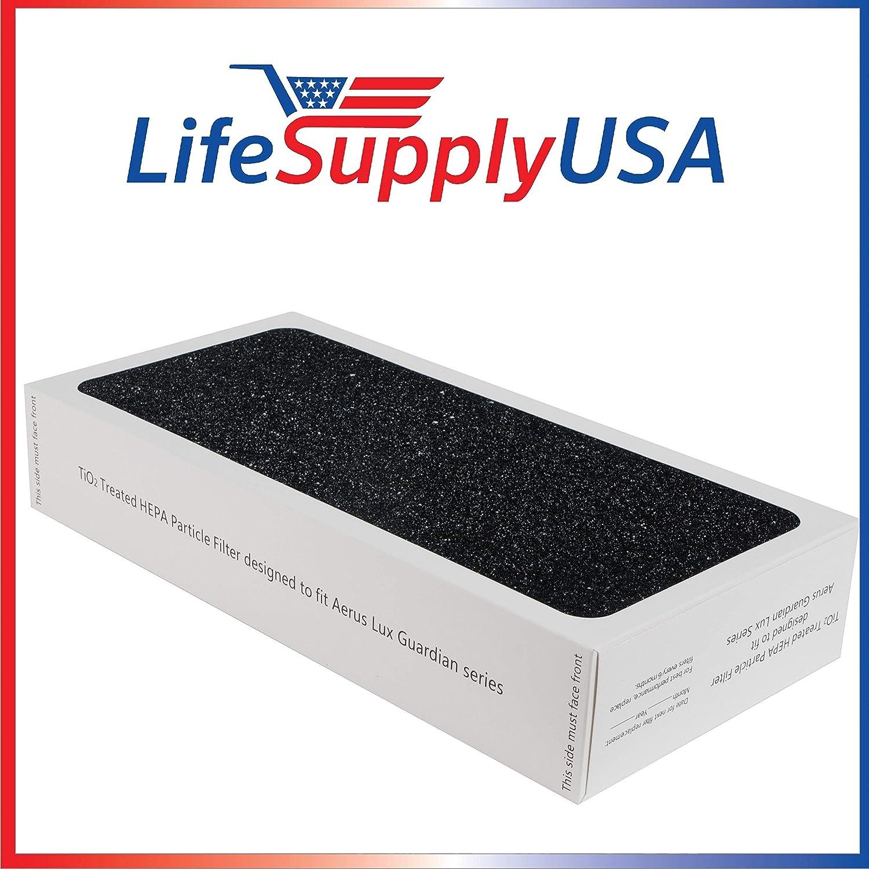 LifeSupplyUSA 4 Filtro de partículas de Repuesto purificador de ...
