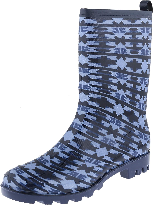 Capelli New York Ladies Mid-Calf Jelly Rain Boot