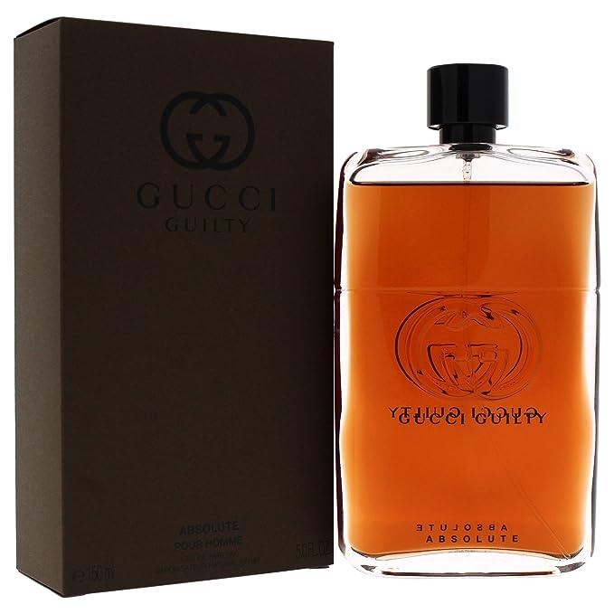 d3f6f15cd Gucci Gucci Guilty Absolute Pour Homme Agua de Perfume Vaporizador - 150 ml:  Amazon.es: Belleza