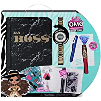 Deals on LOL Surprise OMG Fashion Journal Notebook with Real Watch