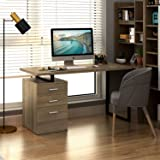 "DEVAISE Modern Computer Desk, 55.1"" Office Desk"