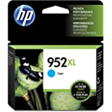 HP 952XL Cyan High Yield Original Ink Cartridge (L0S61AN) for HP OfficeJet Pro 7740 8702 8710 8715 8720 8725 8730 8740