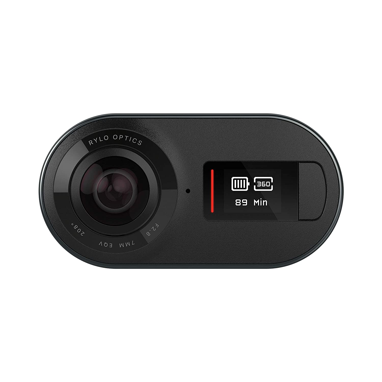Rylo 5 8K 360 Video Camera - (iPhone + Android) - Breakthrough  Stabilization, Includes 16GB SD Card and Everyday Case, Black