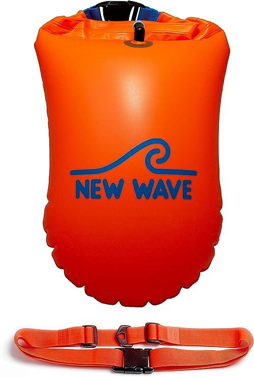Waterproof Air Bag Swim Buoy Swimming Tow Float Dry Bag with Waistbelt Best UK