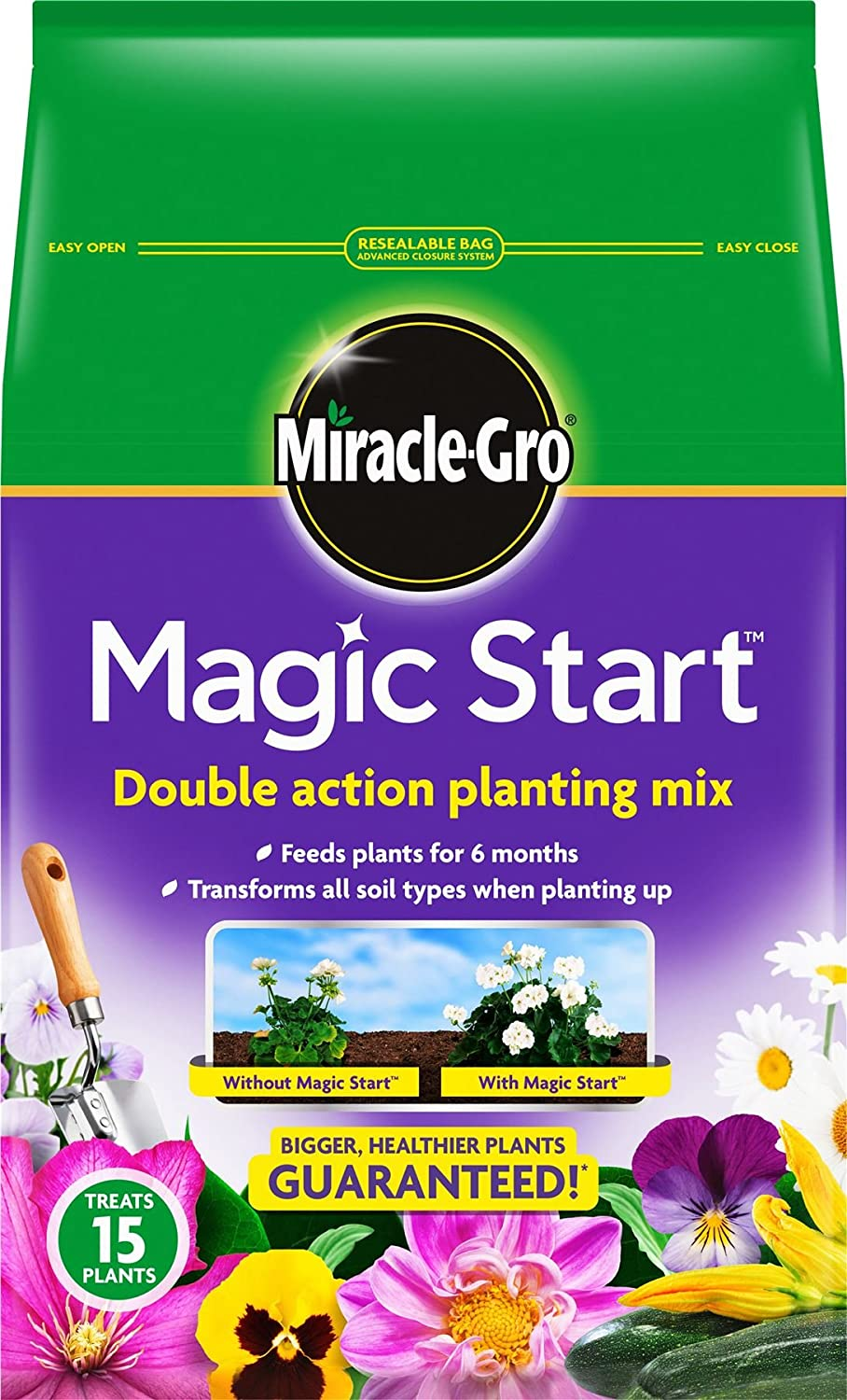 Miracle-Gro Magic Start 5L - 010002: Amazon.es: Hogar