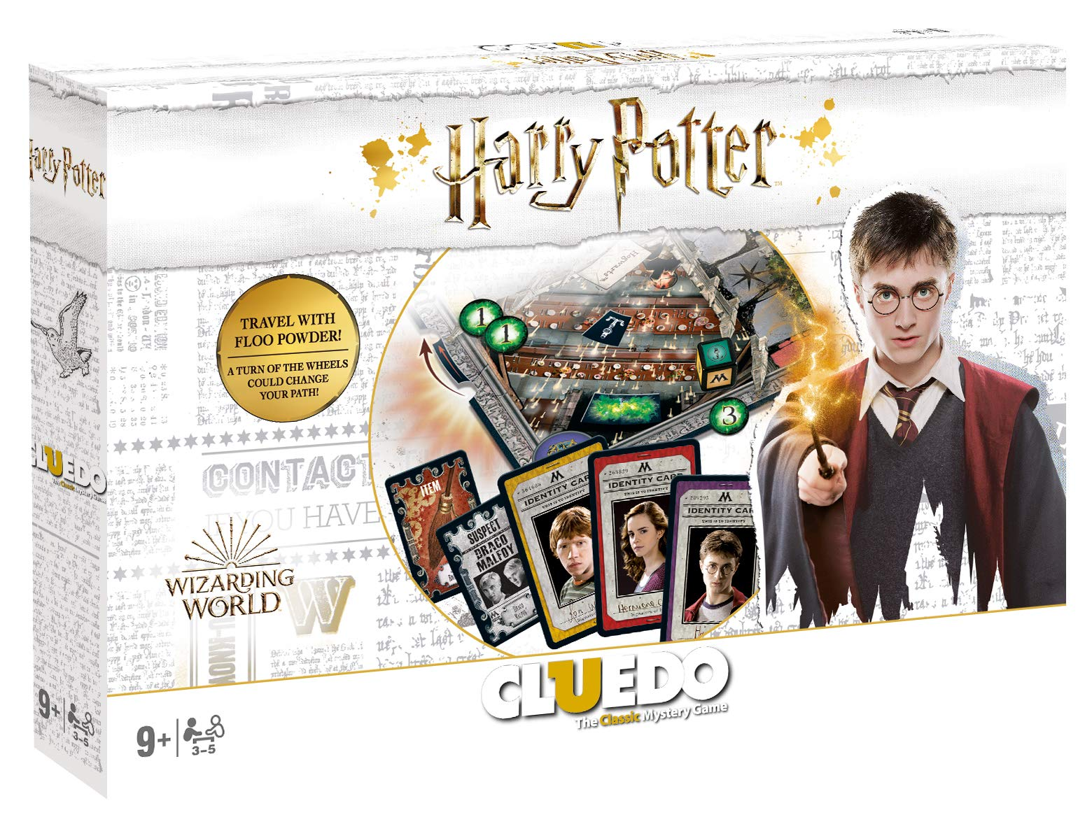 Harry Potter Cluedo Board Game: Amazon.es: Libros en idiomas extranjeros