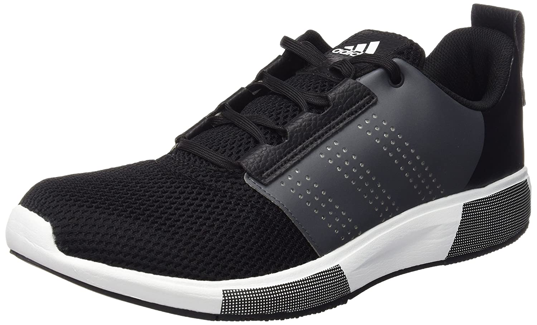 adidas One Trainer Bounce, Scarpe da Fitness Uomo, Multicolore (Cblack/Cblack/Solred), 45 1/3 EU